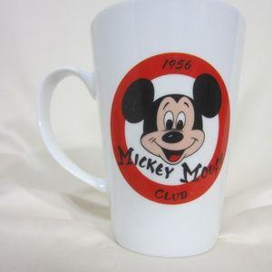 Disney Mickey Mouse Club 1956 Tall Mug